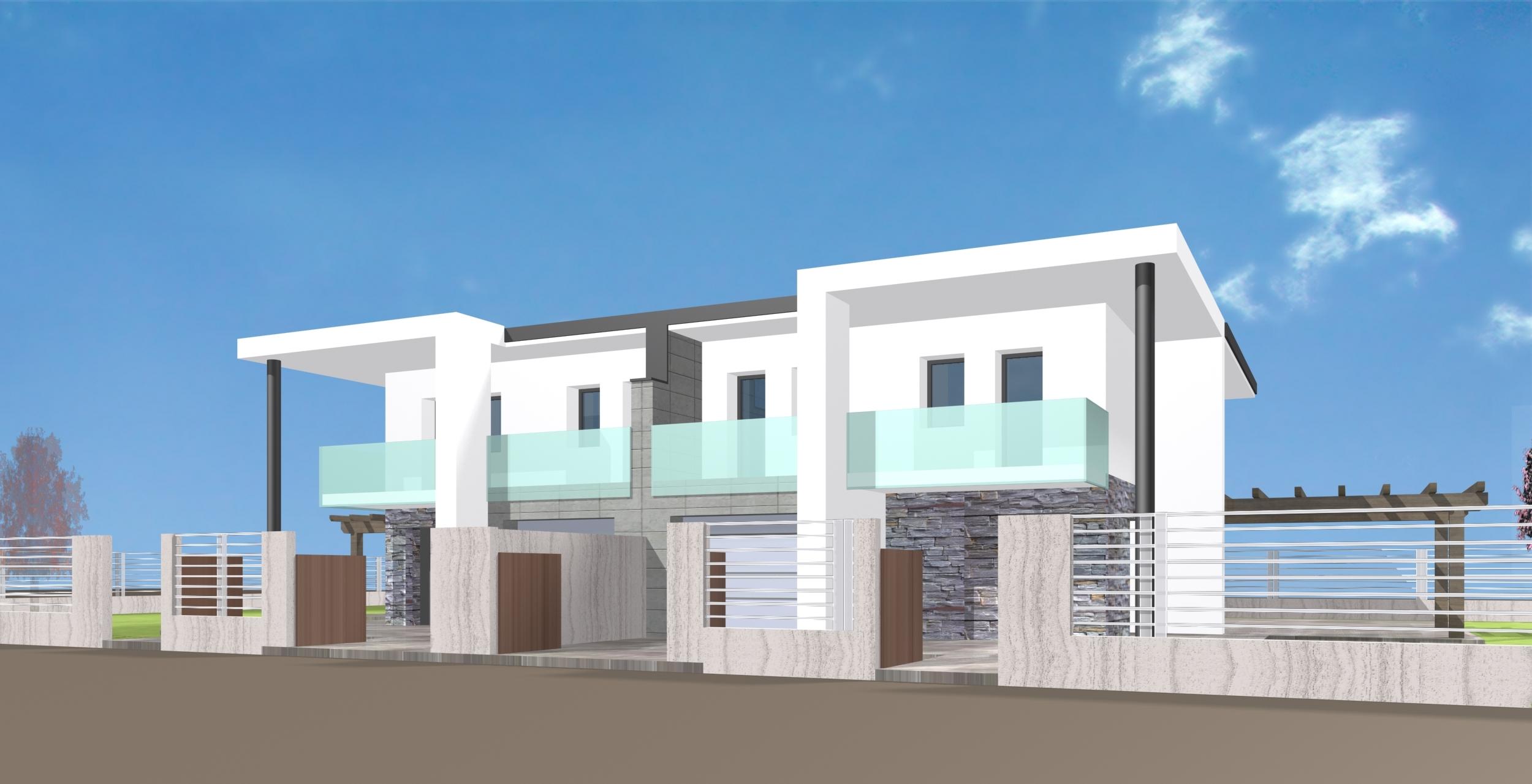 Porzioni di bifamiliare nel quartiere piu ricercato di limena immobiliare progetto - Progetto di casa moderna ...